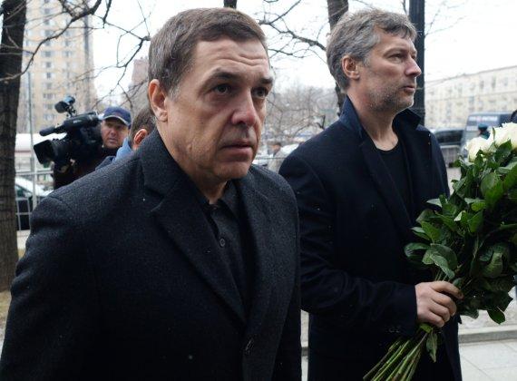 """Scanpix""/""RIA Novosti"" nuotr./Jevgenijus Roizmanas ir Aleksandras Liubimovas"