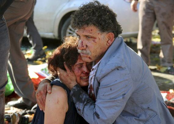 """""""Reuters""""/""""Scanpix"""" nuotr./Sprogimų Ankaroje padariniai"""