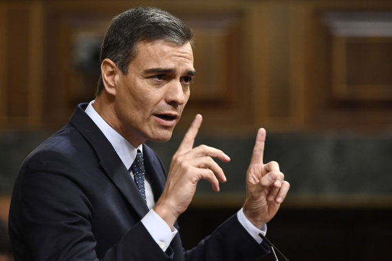 """AFP/""""Scanpix"""" nuotr./Pedro Sanchezas"""
