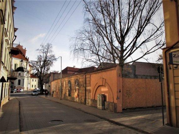 Valstybinė kultūros paveldo komisijos nuotr./Oskierkų rūmų vieta