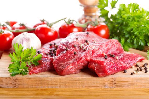 Fotolia nuotr./Jautiena yra viena iš kiečausių mėsų