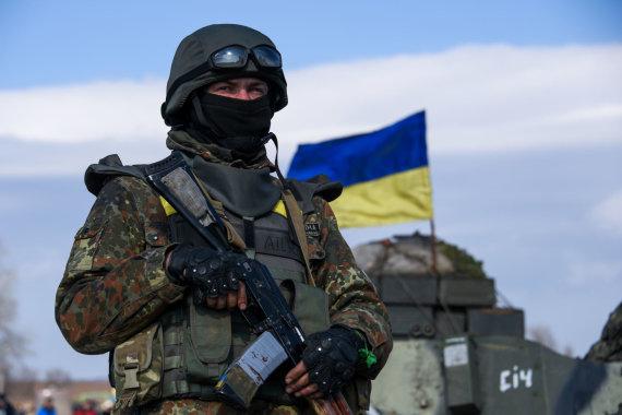 """""""Scanpix""""/""""Sipa USA"""" nuotr./Ukrainos karys"""
