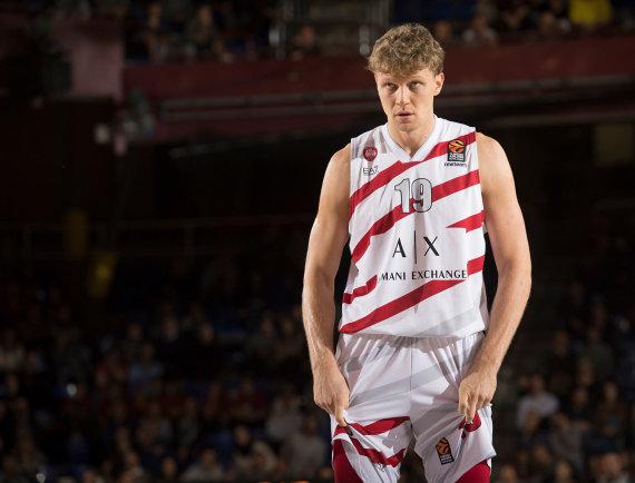 Getty Images/Euroleague.net nuotr./Mindaugas Kuzminskas