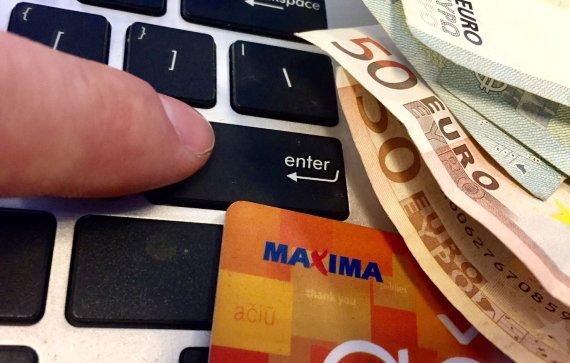 15min nuotr./Maxima lojalumo kortelė – asociatyvi nuotrauka