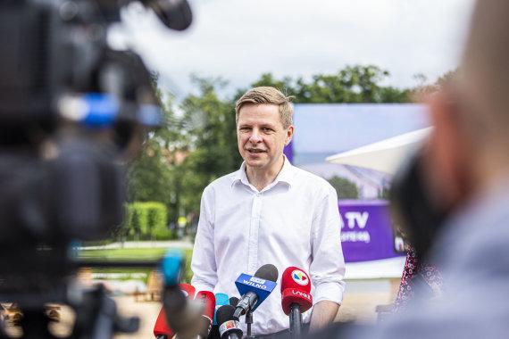 Ernestos Čičiurkaitės / 15min nuotr./Vilniaus miesto meras Remigijus Šimašius