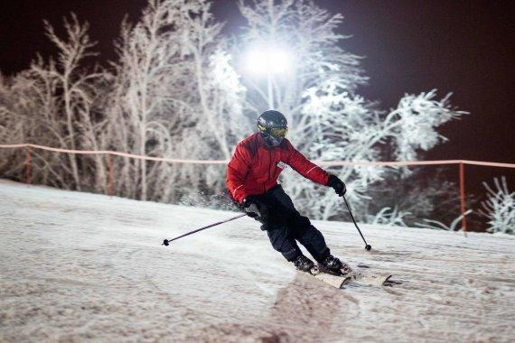 Irmanto Gelūno / 15min nuotr./Liepkalnyje atidarytas slidinėjimo sezonas
