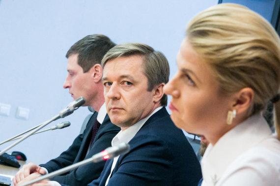 Juliaus Kalinsko / 15min nuotr./Ramūnas Karbauskis, Greta Kildišienė