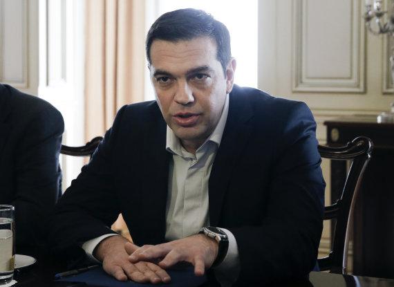 """Reuters""/""Scanpix"" nuotr./Graikijos premjeras Aleksis Cipras"