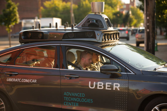 """Scanpix"" nuotr./""Uber"" savavaldis automobilis"