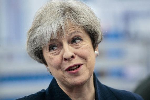 """Reuters""/""Scanpix"" nuotr./Theresa May"