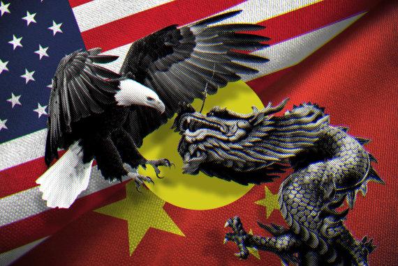 15min koliažas/JAV prieš Kiniją