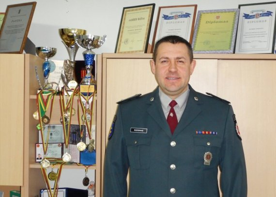 Policijos departamento nuotr./Algirdas Budginas