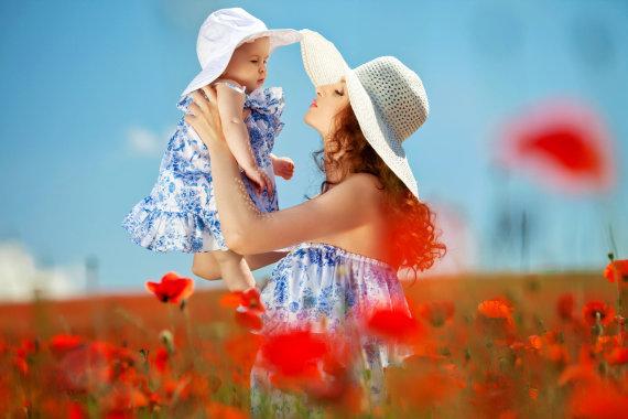 Shutterstock nuotr./Mama ir vaikas.