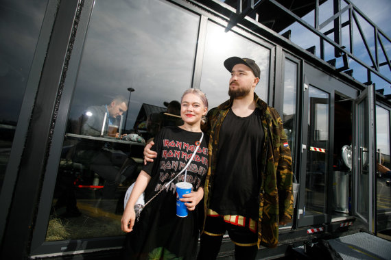 Eriko Ovčarenko / 15min nuotr./Dominykas Čečkauskas ir Marla Singer