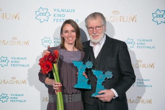 Juliaus Kalinsko / 15min nuotr./Viktorija Kuodytė ir Juozas Budraitis