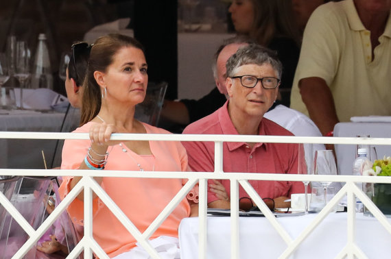 Vida Press nuotr./Melinda ir Billas Gatesai