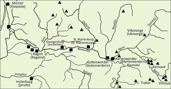 V.Almonaičio iliustr./Marienverderio pilis kontroliavo svarbius Lietuvos vidinius vandens kelius
