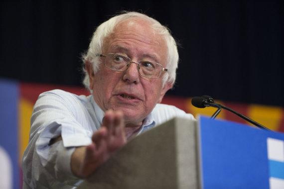"""Scanpix""/AP nuotr./Bernie Sandersas"