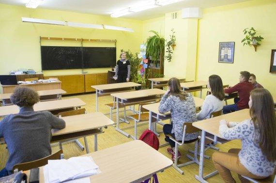 Luko Balandžio / 15min nuotr./Mokykloje