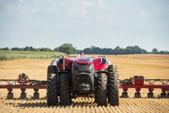 """Gamintojo nuotr./""""Case IH"""" autonominis traktorius"""