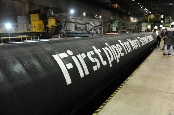 """""""Reuters""""/""""Scanpix"""" nuotr./Bene didžiausios aistros - dėl """"Nord Stream 2"""" dujotiekio"""