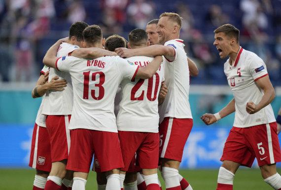 """Scanpix"" nuotr./""Euro 2020"": Lenkija – Slovakija"