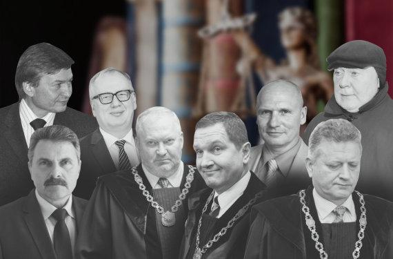 15min montažas/Korupcija įtariami teisėjai