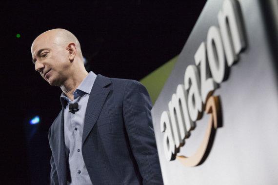 "AFP/""Scanpix"" nuotr./""Amazon"" vadovas Jeffas Bezosas"