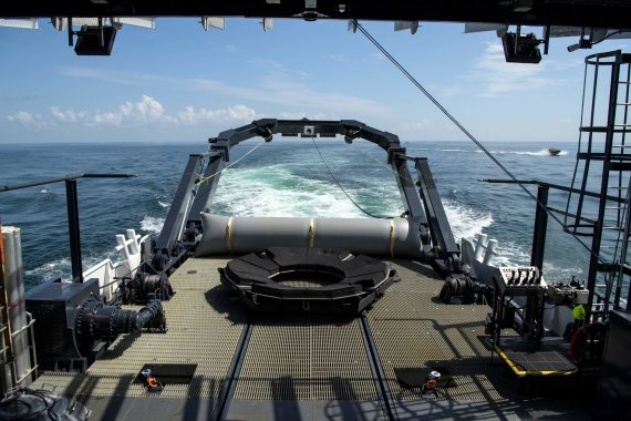 "AFP/""Scanpix"" nuotr./Gelbėjimo laivas ""GO Navigator"""