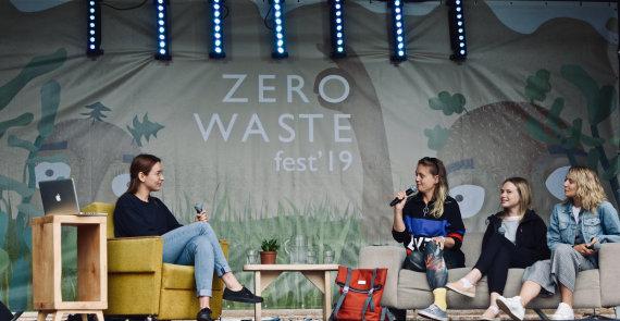 """Renginio organizatorių nuotr./""""Zero waste"""" 2019 metų akimirka"""