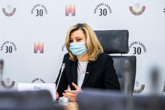 Olgos Posaškovos / lrs.lt nuotr./Ritos Tamašunienės, Česlavo Olševskio ir Kęstučio Vilkausko spaudos konferencija