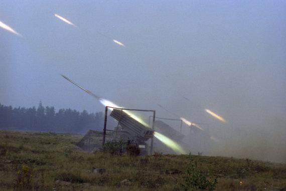 """""""Scanpix""""/""""RIA Novosti"""" nuotr./Sovietų Sąjungos karinės pratybos """"Zapad 1981"""""""