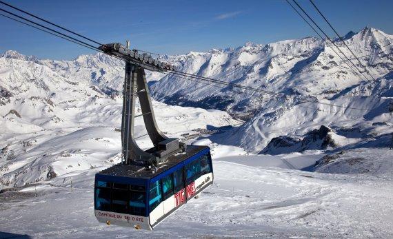 Vida Press nuotr./Tignes, Prancūzijos Alpės