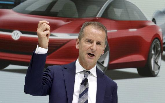 """""""Scanpix""""/AP nuotr./Herbertas Diessas, VW vadovas"""