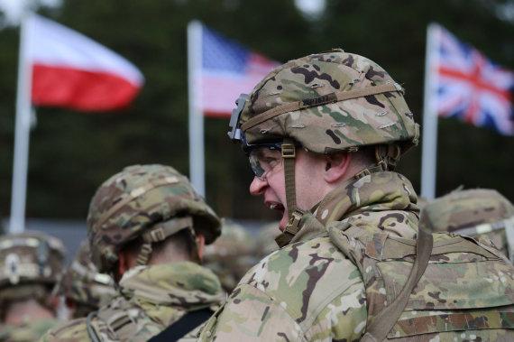 """""""Scanpix"""" nuotr./JAV kariai Lenkijoje"""