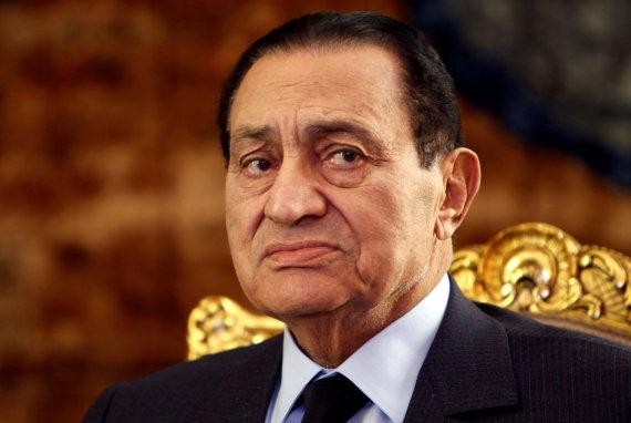 """Reuters""/""Scanpix"" nuotr./Hosni Mubarakas"