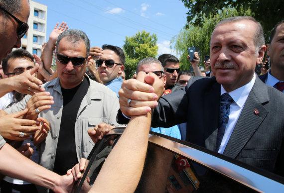 """""""Scanpix""""/AP nuotr./Recepas Tayyipas Erdoganas tęsia valymus"""