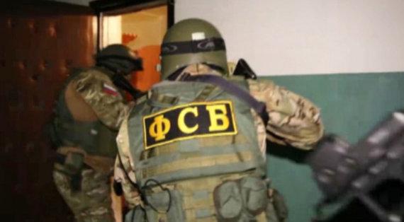 """""""Scanpix"""" nuotr./Rusijos FSB pareigūnų reidas"""