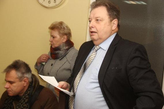 Tomo Markelevičiaus nuotr./Petras Narkevičius