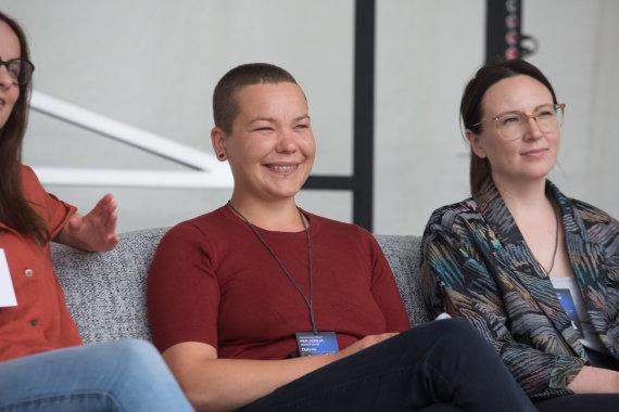 Eriko Ovčarenko / 15min nuotr./Viktorija Kolbešnikova ir Lina Kaminskaitė-Jančorienė