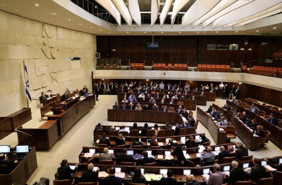 """Reuters""/""Scanpix"" nuotr./Izraelio parlamentas (Knesetas)"