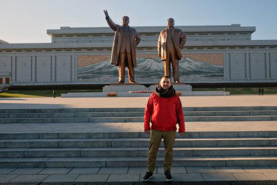 Karolio Žukausko nuotr./Šiaurės Korėjoje