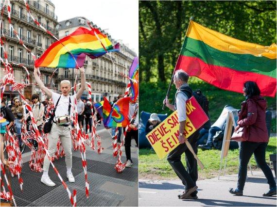 15min koliažas/LGBT eitynės ir Didysis šeimų gynimo maršas