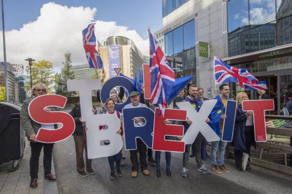 """Scanpix""/AP nuotr./Protestas prieš ""Brexit"""