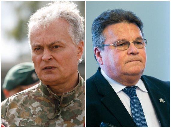 15min nuotr./Gitanas Nausėda, Linas Linkevičius