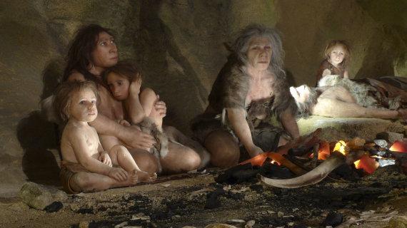 """""""Reuters""""/""""Scanpix"""" nuotr./Neandertalietės"""