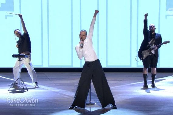 """Stopkadro nuotr./""""The Roop"""" pasirodymas alternatyviame Vokietijos konkurse"""