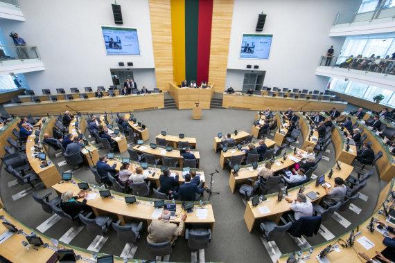Luko Balandžio / 15min nuotr./Seimo rudens sesijos pradžia