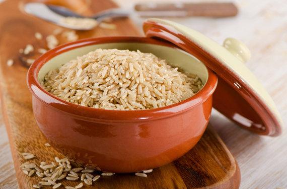 Fotolia nuotr./Rudieji ryžiai.