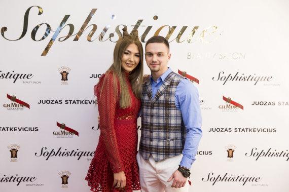 Žygimanto Gedvilos / 15min nuotr./Sofio Gelašvili-Niūniavė su vyru Dominyku